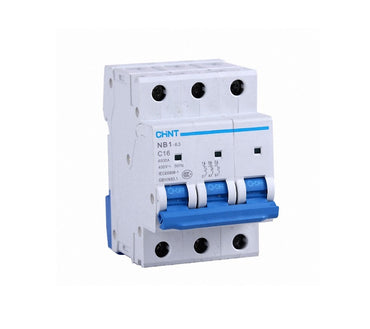 CHINT 3 Pole Circuit Breaker 6kA