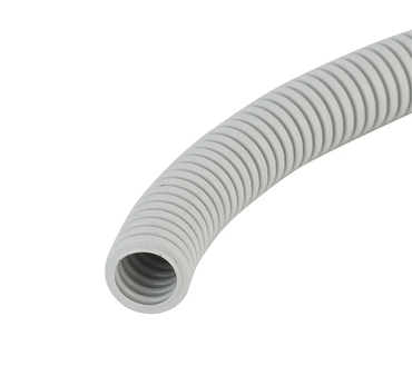 Grey Medium Duty Corrugated Conduit 20mm