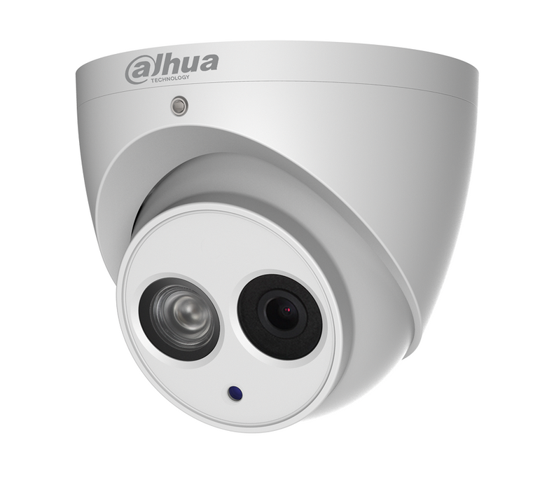 DaHua 6MP Outdoor Turret Camera White (IP)