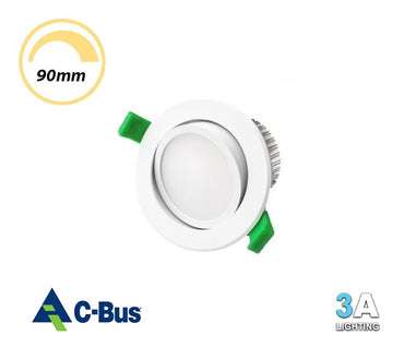 3A 15W LED Gimlbe Dimmable Downlight White Samsung Chip