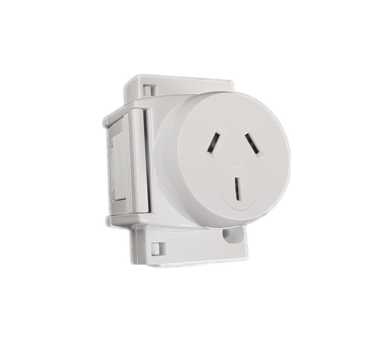 Dexton Quick Connect Socket Plug Base 10 Amp