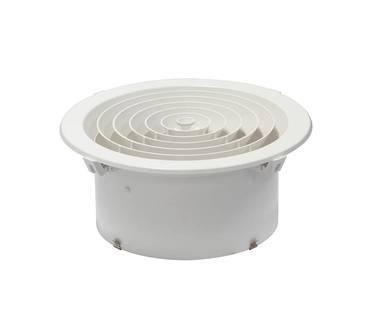 Round Downjet Ceiling Diffuser Outlet