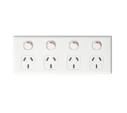NLS Classic Switch Series White