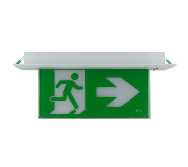 Tradelike JADE 3W LED Recessed Emergency Exit Sign