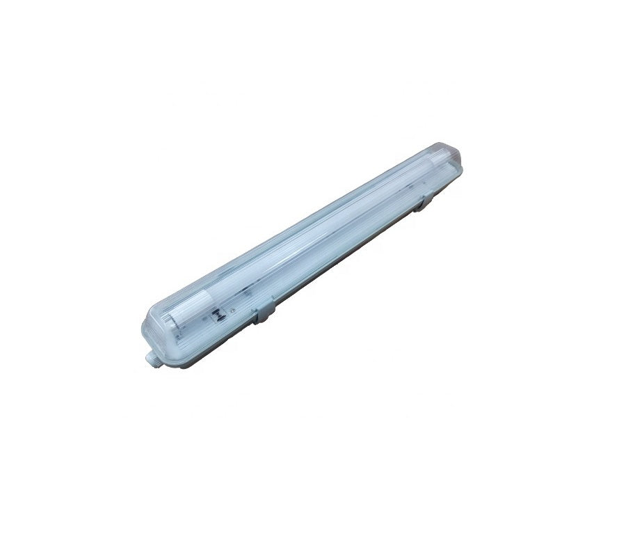 3A 18W LED Weatherproof Batten Light Single Tube 4FT IP65