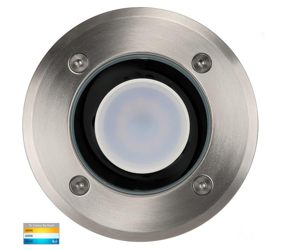 Havit Metro Round 316 Stainless Steel Inground Light CCT