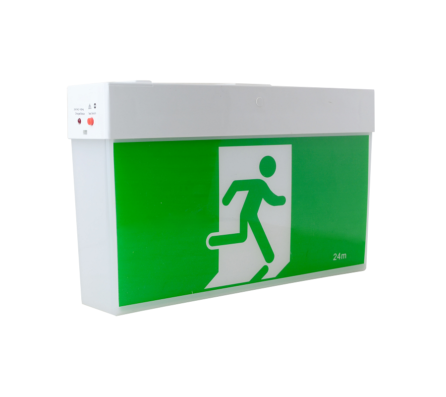 Tradelike RAMBO 3W LED Emergency Exit Sign White
