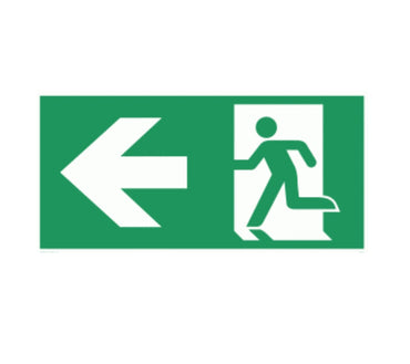 Crown B360 3W LED Emergency Exit Sign