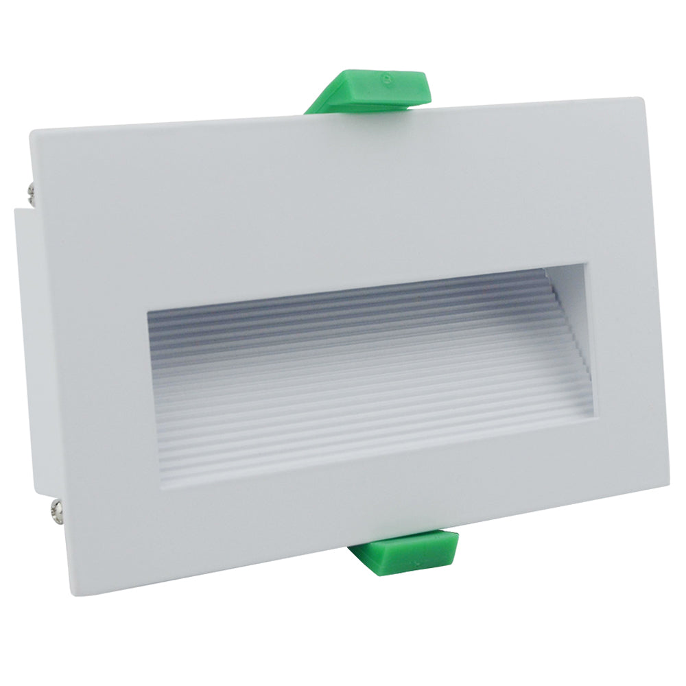 Martec Slip Recetangle Recessed LED Step Light