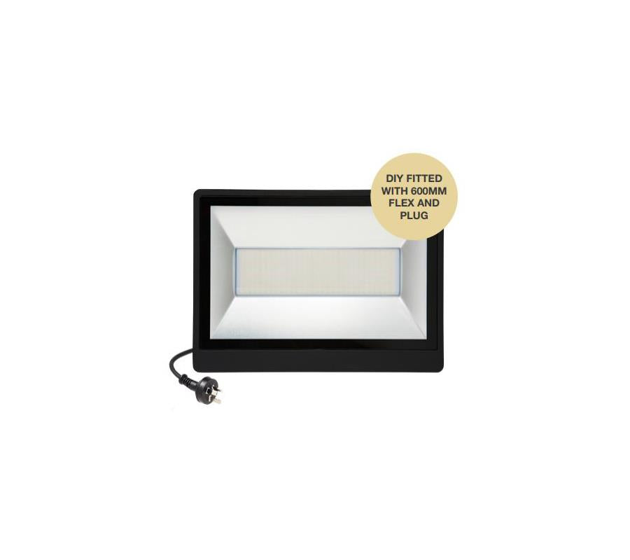 Martec 100W LED Security Flood light CCT