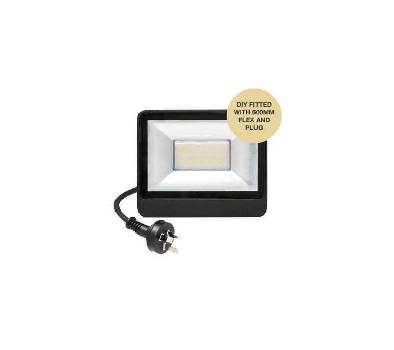 Martec 10W LED Security Flood light CCT