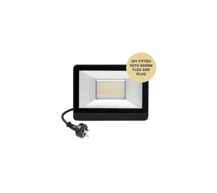 Martec 20W LED Security Flood light CCT
