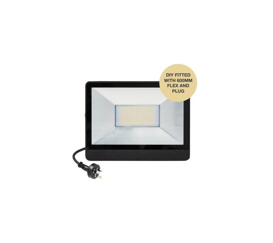 Martec 30W LED Security Flood light CCT