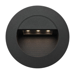 Mercator Rye Round Recessed LED Step Light