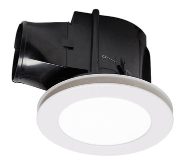Martec Flow Round Bathroom Exhaust Fan & Light