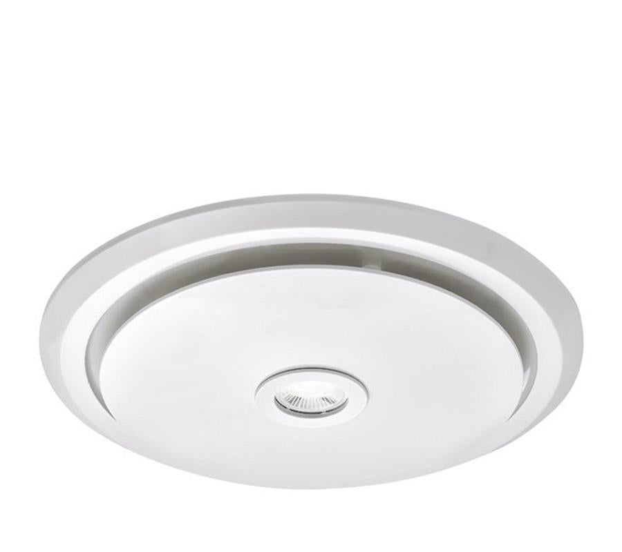 Martec Gyro Round Bathroom Exhaust Fan & Light