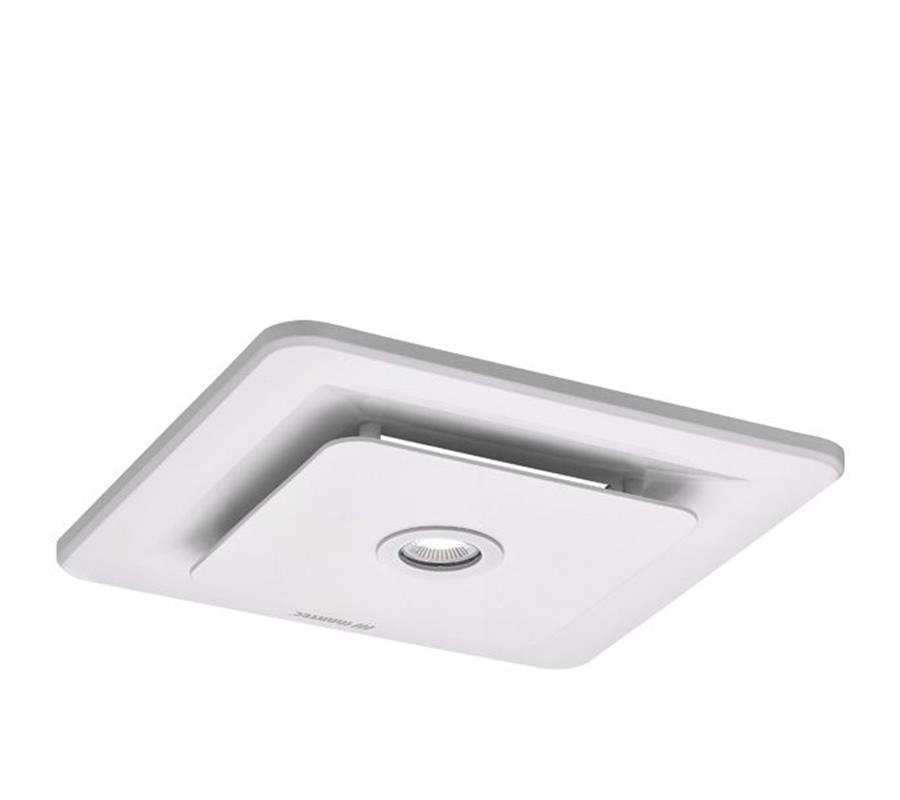 Martec Tetra Square Bathroom Exhaust Fan & Light