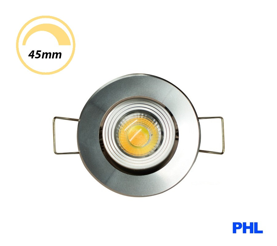 PHL 3W LED Gimble Cabinet Downlight CCT Chrome