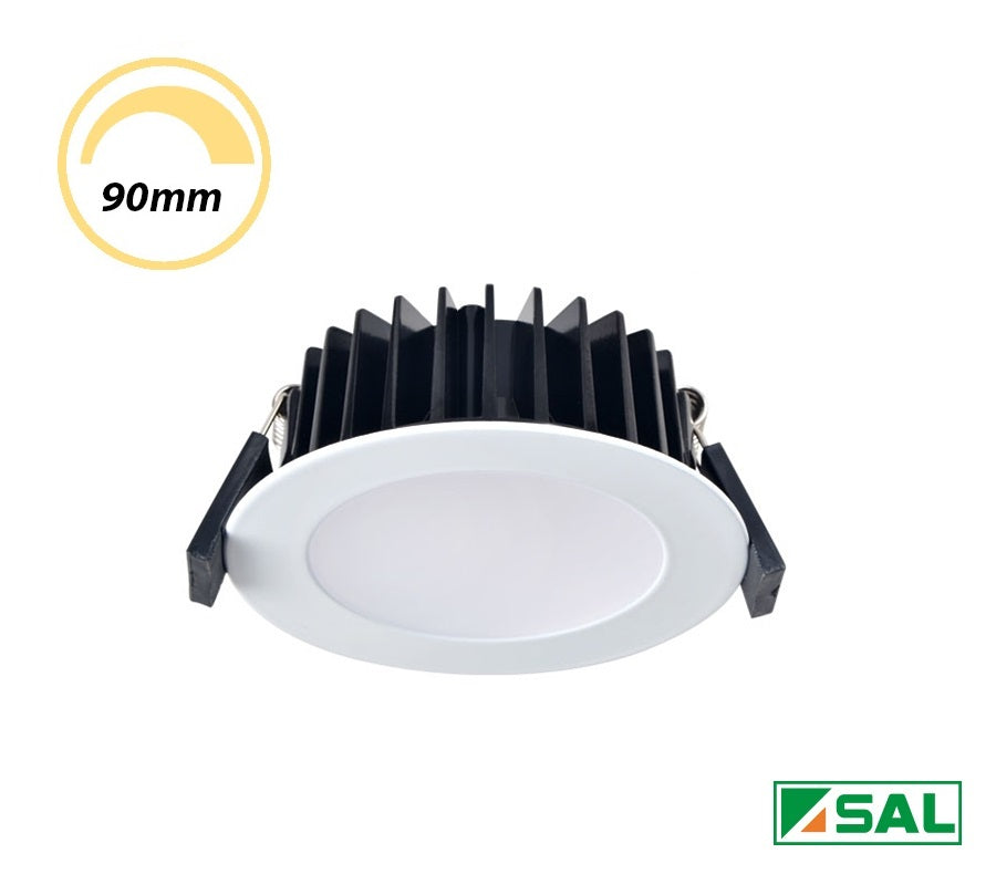 SAL 10W LED Dimmable Downlight Flush White CCT S9041TC