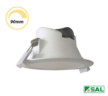 SAL 9W LED Dimmable Downlight Flush White CCT S9065TC