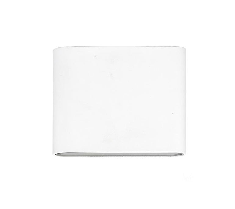 3A Small Slim Up & Down Wall Light White