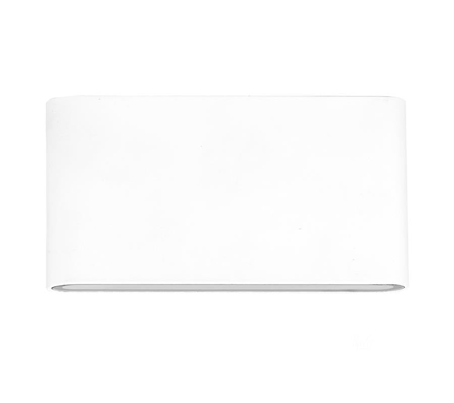 3A Large Slim Up & Down Wall Light White