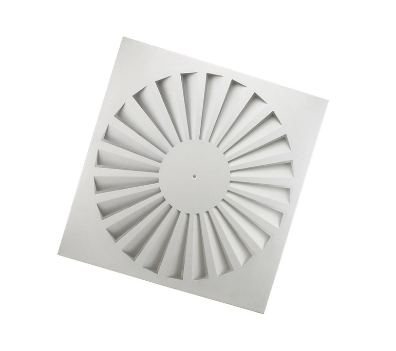 Round Swirl Ceiling Diffuser Outlet 2