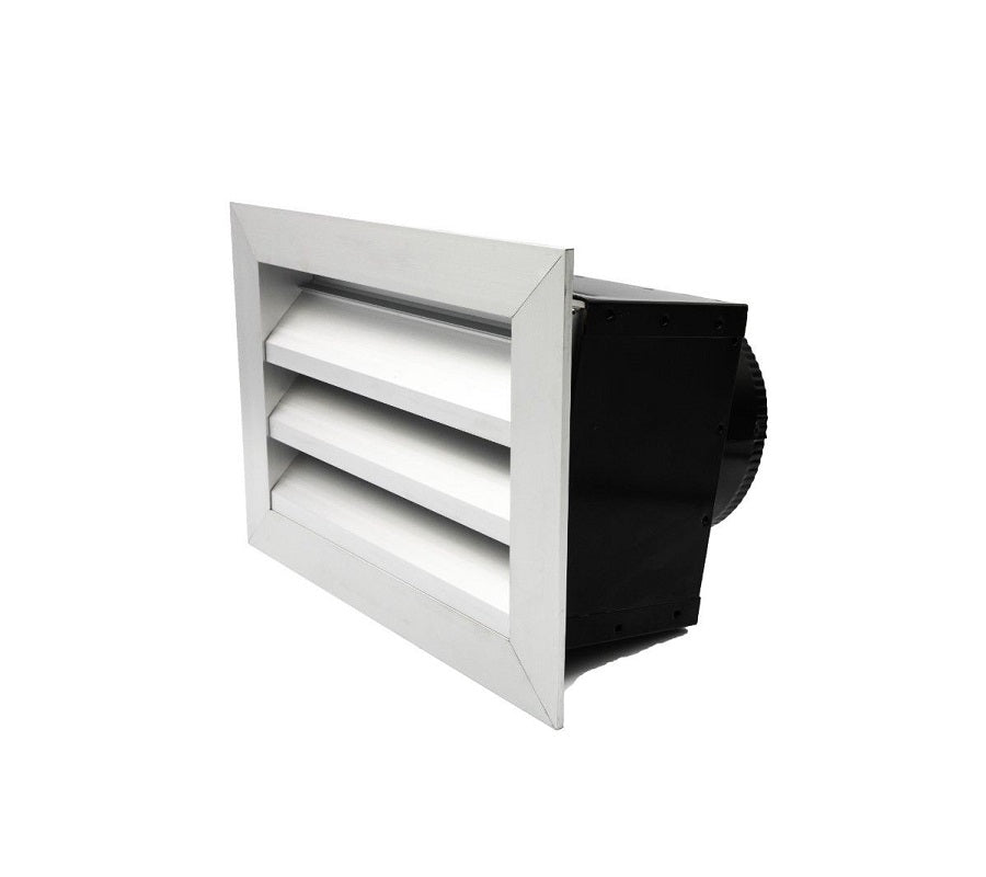 Outdoor Weatherproof Louver Box 150mm Duct