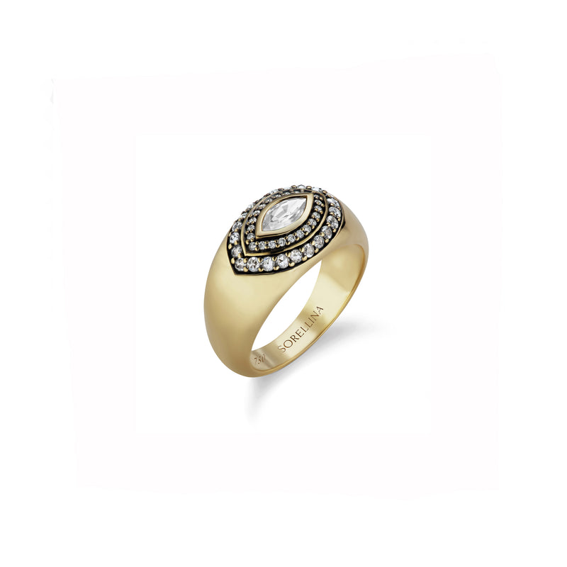 Axl Marquise Ring