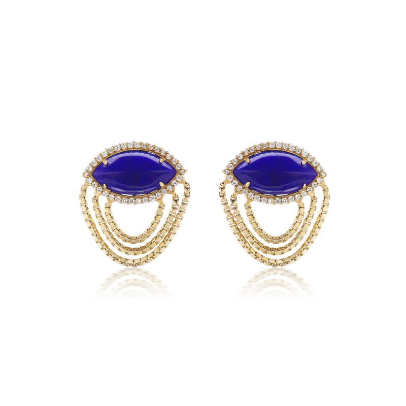 Axl Marquise Catana Earrings
