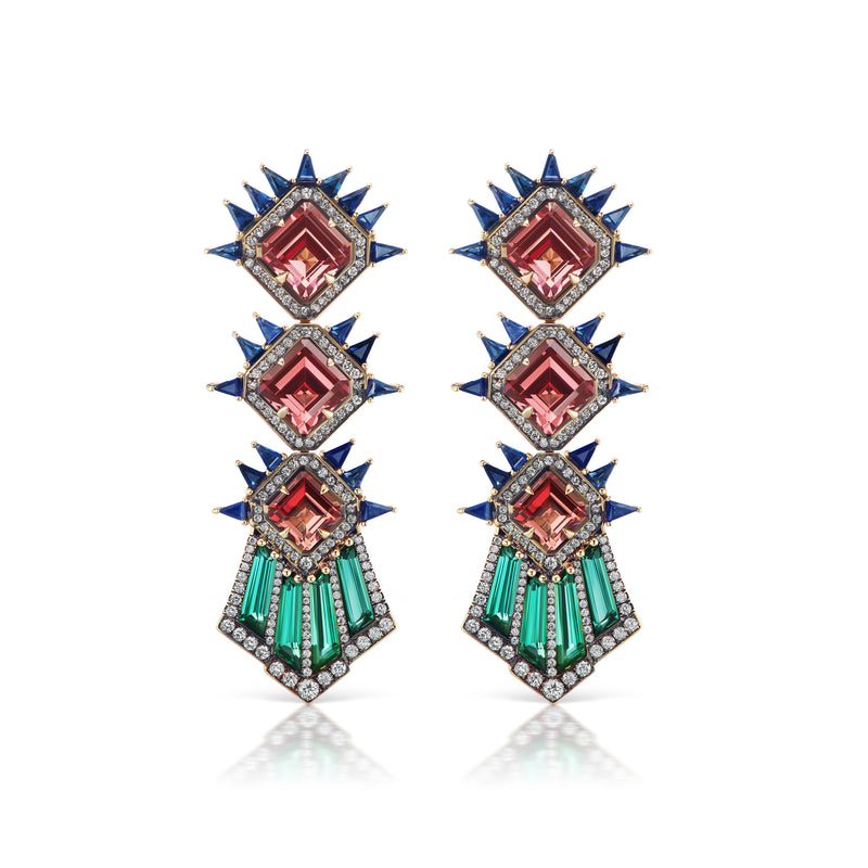 Starburst Deco Earrings