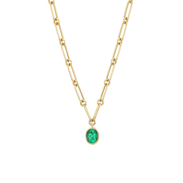 Emerald Nomad Necklace