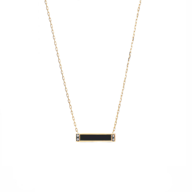 Otto Stone Bar Necklace