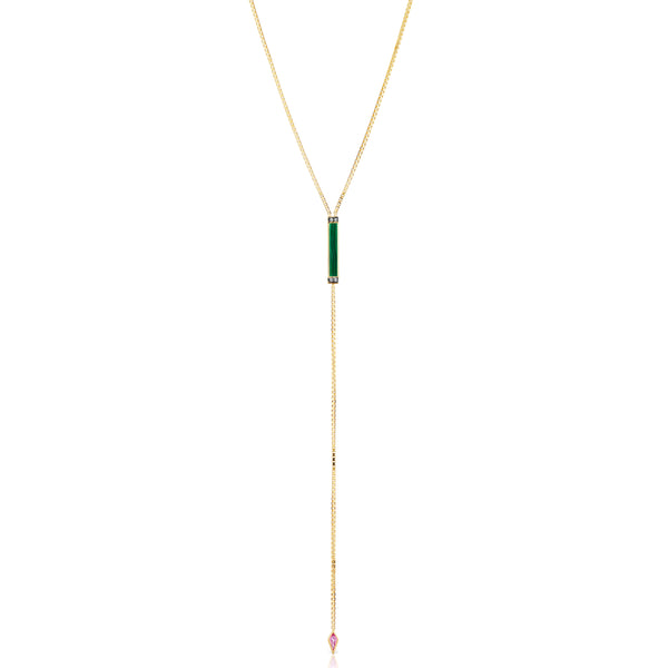 Otto Lariat Necklace