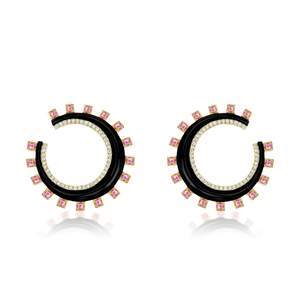 Monroe Crescent Earrings