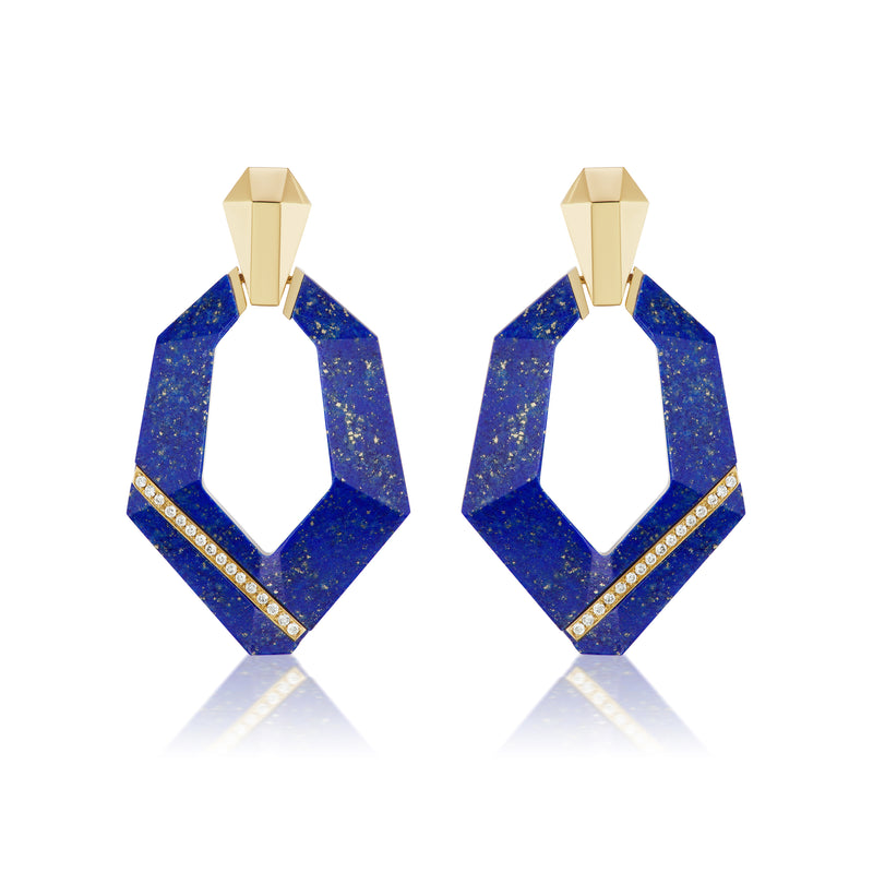 Pietra Door Knocker Earrings