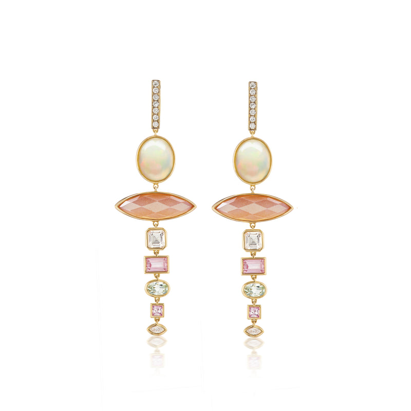 Nomad Marquise Drop Earring