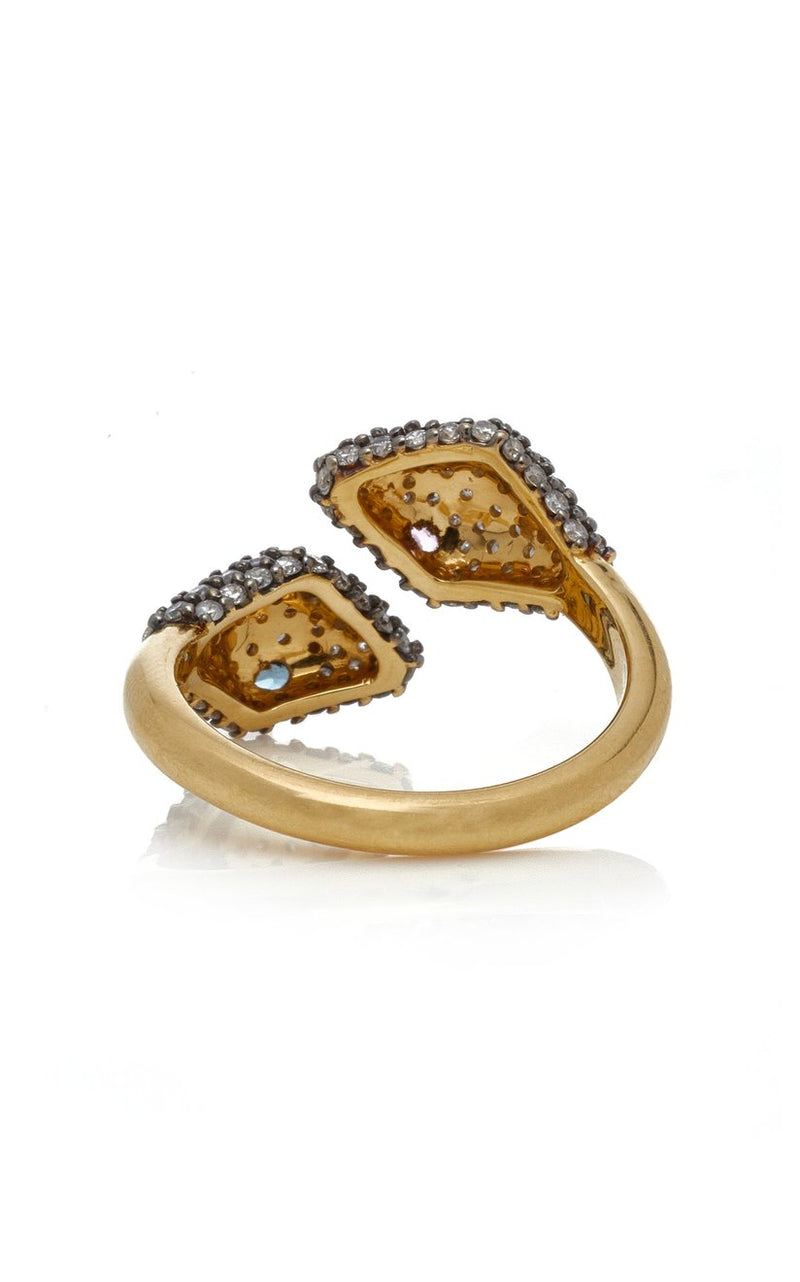 Victoria Dueling Serpente Ring