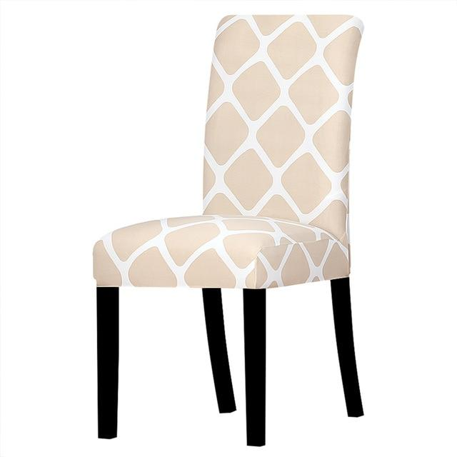 Printed Dining Chair Slipcovers - V1