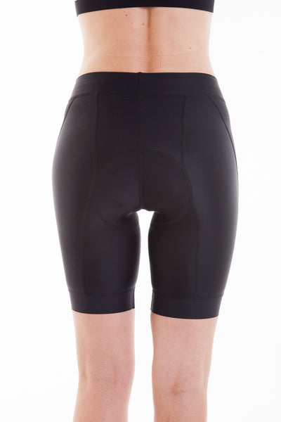 Giada Black Compression Bike Short - 9 Inch
