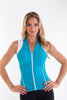 Beatriz Sleeveless Bike Jersey with ruched front