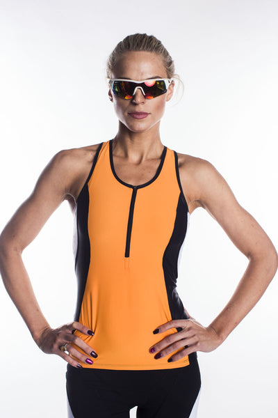 Luisa Zip Front Triathlon  Top-New Spring 16 design and colors