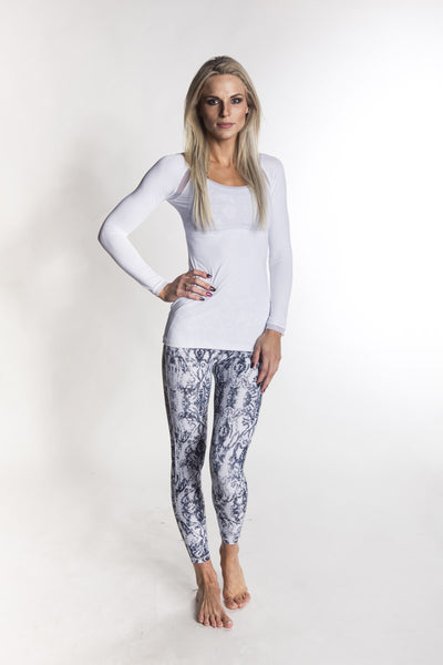 """Alii Sport' Classic Everyday Ankle Legging"