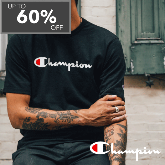 Champion up to 60% off