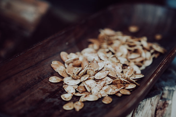The absolute best roasted pumpkin seeds!