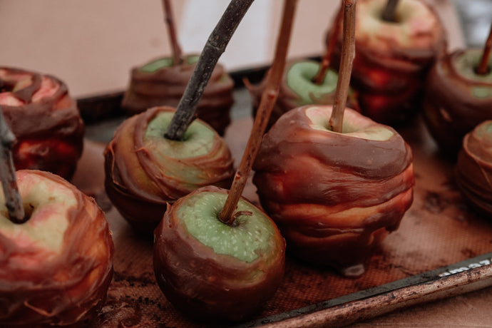 Vegan Caramel Apples