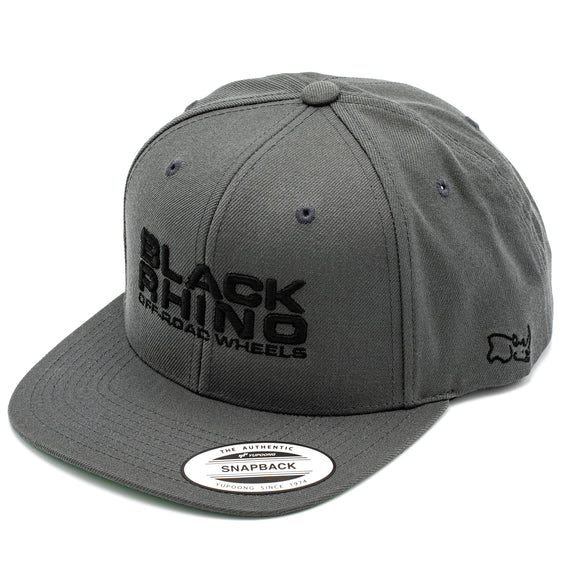 HAT BLACK RHINO CHARCOAL GRAY