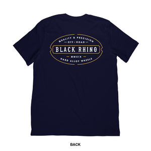 T-SHIRT BLACK RHINO LINE NAVY S