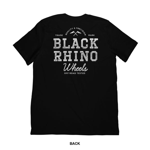 SHIRT - BLACK RHINO T-SHIRT TEAM X-LARGE