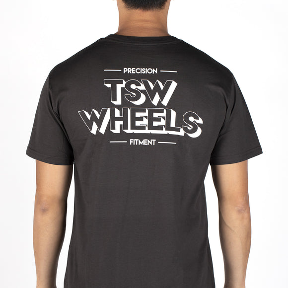 T-SHIRT TSW DROPPER CHARCOAL - SMALL